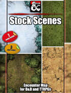 Stock Scenes- 7 maps - jpg/mp4 & Fantasy Grounds .mod