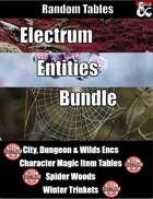 Electrum Entities Bundle - Random Tables [BUNDLE]