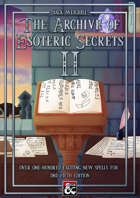 The Archive of Esoteric Secrets II