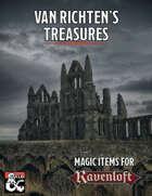 Van Richten's Treasures - Magic Items for Ravenloft
