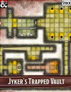 Elven Tower - Jyker's Trapped Vault | 20x20 Stock Battlemap