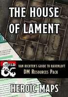 Van Richten's Guide to Ravenloft: The House of Lament DM Resources Pack