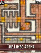 Elven Tower - The Limbo Arena | 20x21 Stock Battlemap