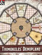 Elven Tower - Thimokeles' Demiplane | 26x26 Stock Battlemap