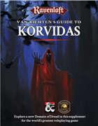 Van Richten's Guide to Korvidas (Fantasy Grounds)