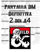 Pantalla Definitiva DM - Ultimate DM Screen (ESP)