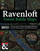 Ravenloft Forest Battle Maps
