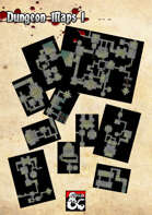 Dungeon Maps 1