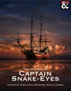 The Journal of Captain Snake-Eyes