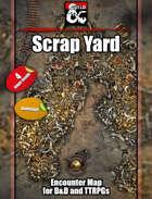 Scrap Yard - Modron burial grounds - Metal planet - 4 maps - jpg/mp4 & Fantasy Grounds .mod