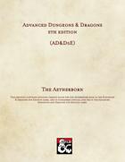 AD&D5E: The Aetherborn