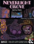 Out of the Abyss Map Pack: Neverlight Grove Battle Maps