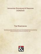 AD&D5E: The Warforged