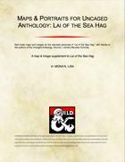 Maps & Portraits for Uncaged Anthology: Lai of the Sea Hag
