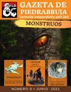 Gazeta de PiedraBruja 8: Monstruos para D&D 5e Español