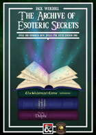 The Archive of Esoteric Secrets (Fantasy Grounds)
