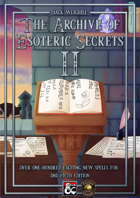The Archive of Esoteric Secrets II (Fantasy Grounds)