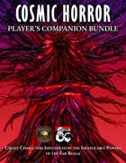 Cosmic Horror Player's Companion (Fantasy Grounds)