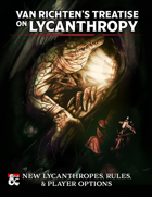 Van Richten's Treatise on Lycanthropy