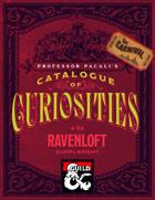 Professor Pacali's Catalogue of Curiosities