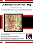DotMM01: Dungeon of the Mad Mage - Undermountain Player's Map (Dungeon Level)