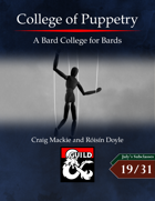 College of Puppetry: A Bard College for Bards