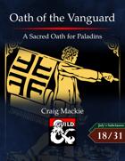 Oath of the Vanguard: A Sacred Oath for Paladins