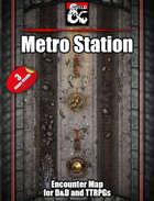 Eberron train/metro/subway station - 3 maps - jpg/mp4 & Fantasy Grounds .mod
