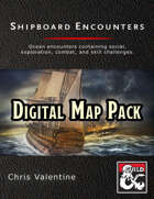 Shipboard Encounters, Digital Map Pack