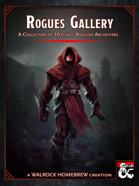 {WH} Rogues Gallery! A Collection of 10 Iconic Roguish Archetypes