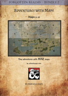 Forgotten Realms Adventures & Maps Bundle 2