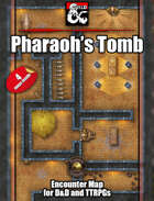 Pharaoh's Tomb - 4 maps - jpg/mp4 & Fantasy Grounds .mod