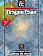 Dragon Cave - 8 maps - jpg & Fantasy Grounds .mod