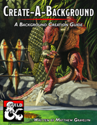 Create-A-Background: A Background Creation Guide