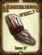 Monster Hunts Weekly: Issue 27 (Fantasy Grounds)