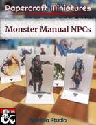 Papercraft Minis: NPCs (Monster Manual)