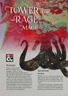 Tower of the Rage Mage (5e)