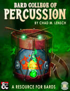 Bard College of Percussion: Drum Resource for Players and DMs (Fantasy Grounds)