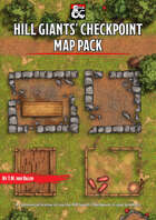 Hill Giants' Checkpoint - Forgotten Realms Stock Maps