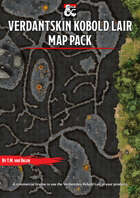 Verdantskin Kobold Lair - Forgotten Realms Stock Maps