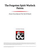 The Forgotten Spirit Warlock Patron