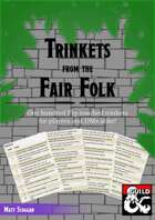 Trinkets from the Fair Folk