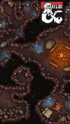 Goblin Lair Battlemap