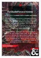 Fortitude/Forza d'Animo
