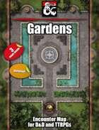 Gardens - 3 maps - jpg/mp4 & Fantasy Grounds .mod