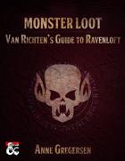 Monster Loot – Van Richten's Guide to Ravenloft