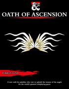 The Oath of Ascension for Paladins [D&D 5e (2021)]