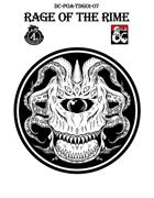 DC-PoA-TDG01-07 Rage of the Rime