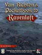 Van Richten's Pocketbook to Ravenloft (Fantasy Grounds)