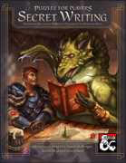 Puzzles for Players: Secret Writing